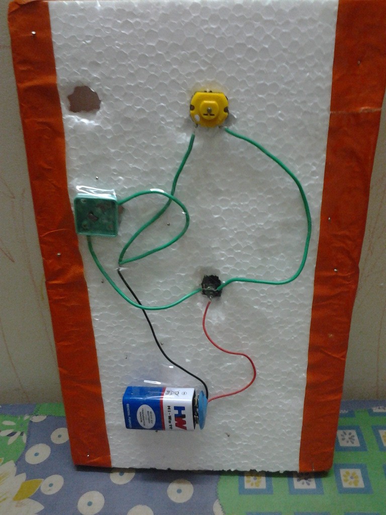 Simple Circuit – Science Project | Raji and her kids - Weblog